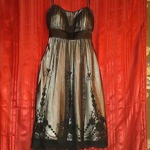 SL fashion midi dress